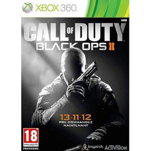JEUX XBOX 360 CALL OF DUTY BLAK OPS 2 XBOX 360