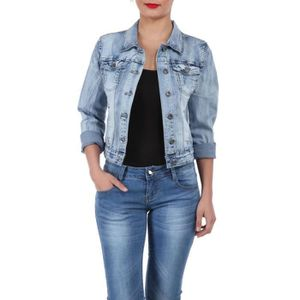 pret a porter vetements femme manteaux vestes veste en jean l