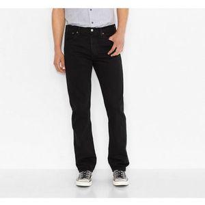 JEANS Jeans Levis 501 noir black black homme