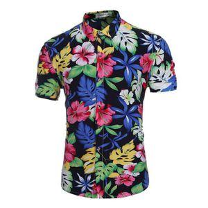 chemise a fleur homme achat vente chemise a fleur. Black Bedroom Furniture Sets. Home Design Ideas