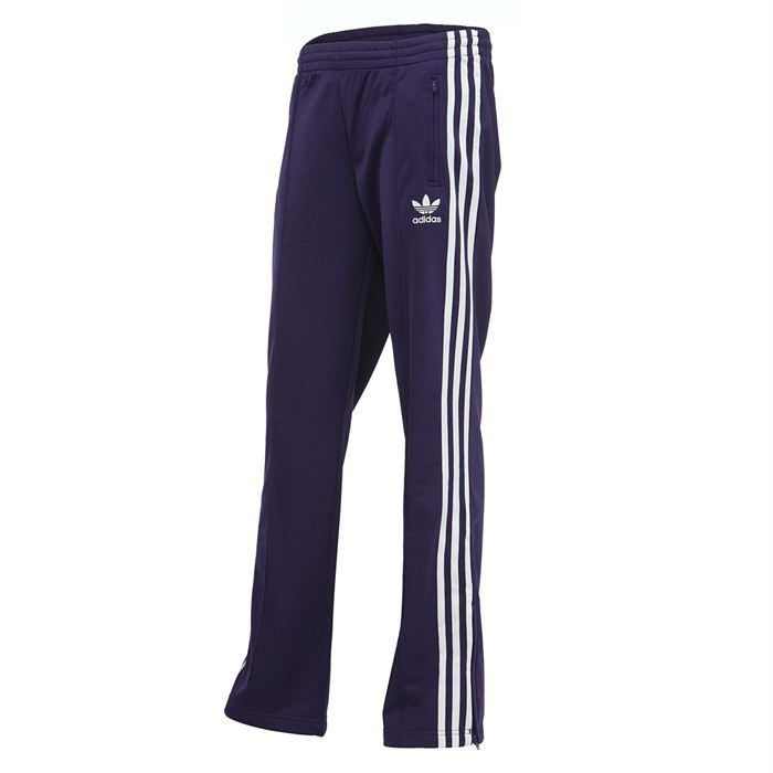 adidas pantalon firebird femme violet et argent achat. Black Bedroom Furniture Sets. Home Design Ideas
