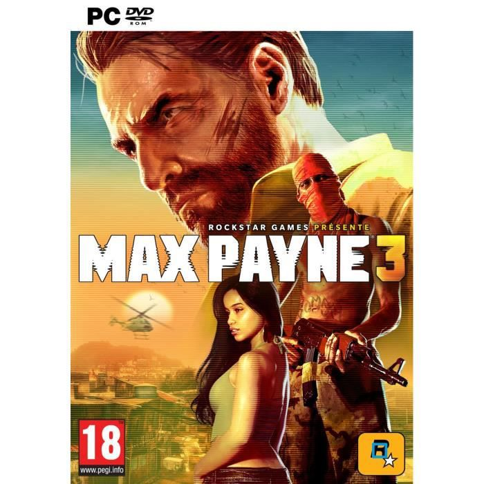 JEU PC MAX PAYNE 3 / Jeu PC