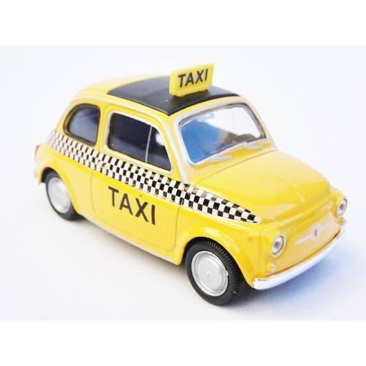 fiat nuova 500 1 43 taxi jaune new york achat vente. Black Bedroom Furniture Sets. Home Design Ideas