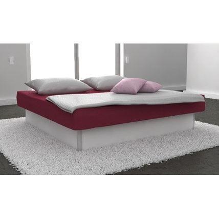 lit a eau open confort mono 180x200 couleur blanc achat. Black Bedroom Furniture Sets. Home Design Ideas