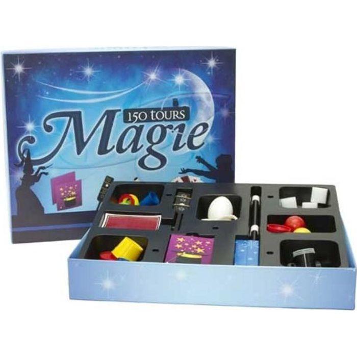 coffret magie 150 tours achat vente jeu magie cdiscount. Black Bedroom Furniture Sets. Home Design Ideas