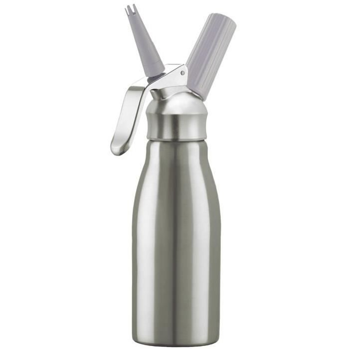 Kayser siphon chantilly mousse 0 5l inox achat vente for Siphon cuisine inox