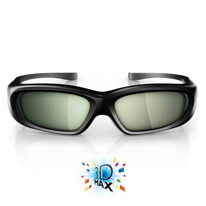 philips pta508 lunettes 3d active achat vente lunettes 3d philips pta508 moins cher cdiscount. Black Bedroom Furniture Sets. Home Design Ideas