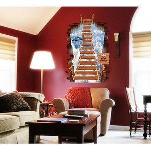 sticker d escalier achat vente sticker d escalier pas cher les soldes sur cdiscount. Black Bedroom Furniture Sets. Home Design Ideas