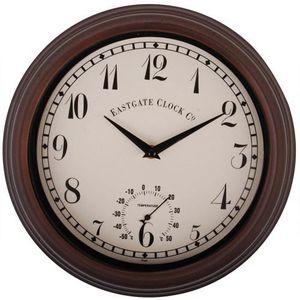 horloge d exterieur achat vente horloge d exterieur pas cher cdiscount. Black Bedroom Furniture Sets. Home Design Ideas