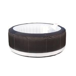 spa gonflable pour 4 personnes bleu achat vente. Black Bedroom Furniture Sets. Home Design Ideas