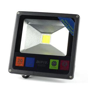 LAMPE DE JARDIN  Projecteur ultra fin 20W