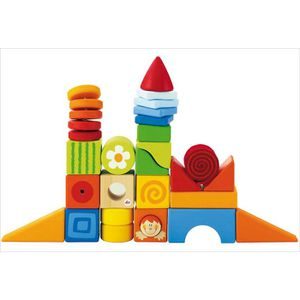cubes bois jouet enfant achat vente jeux et jouets pas chers. Black Bedroom Furniture Sets. Home Design Ideas