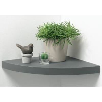 etagere d'angle grise