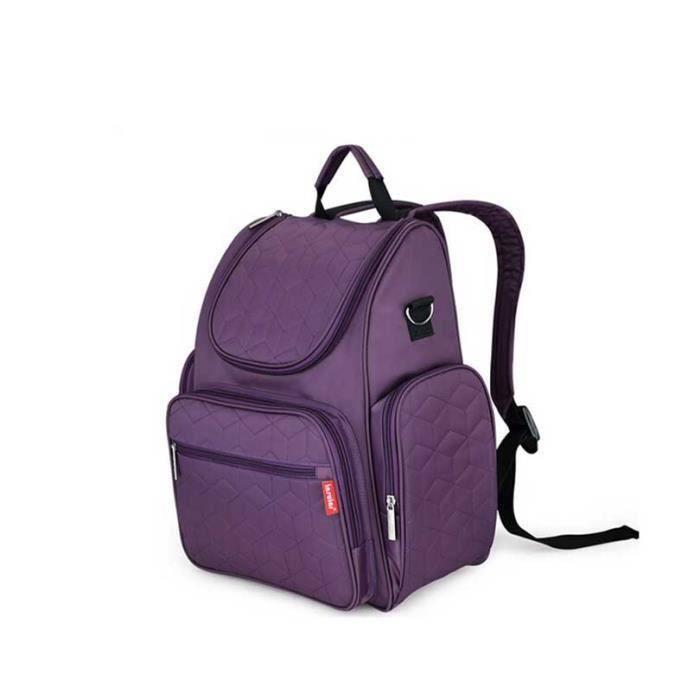 sac langer b b et sac dos pour voyage violet achat vente sac langer 0611536897509. Black Bedroom Furniture Sets. Home Design Ideas