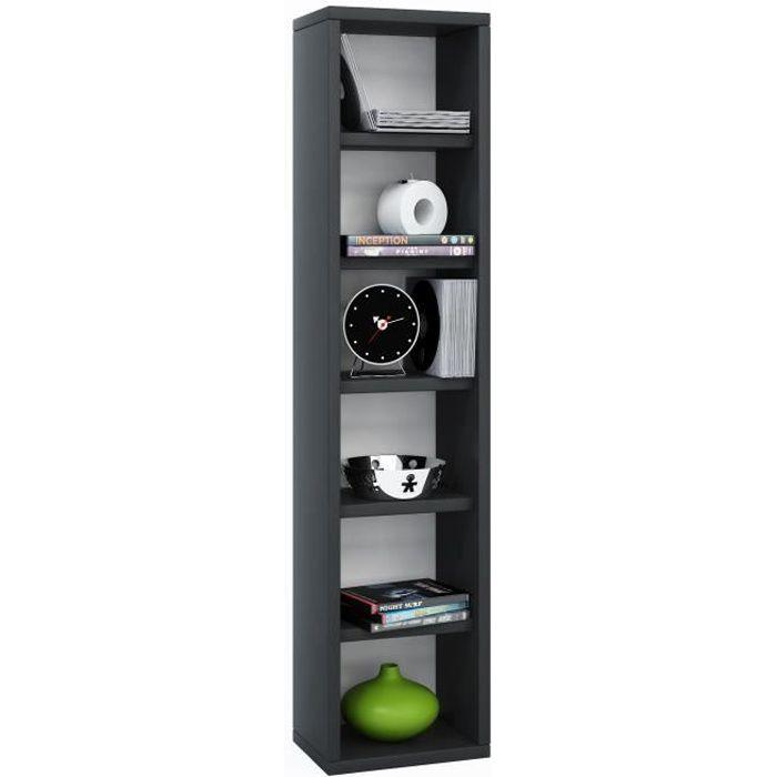 elementa tour de rangement biblioth que pour cd 102 pi ces. Black Bedroom Furniture Sets. Home Design Ideas