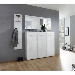 Miroir blanc laque achat vente miroir blanc laque pas for Miroir long blanc