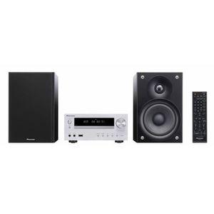 PIONEER - X-HM-50 - Micro chaîne stéréo Bluetooth, lecteur CD, USB pour IPod, IPhone, Ipad - 100W RMS - Gris