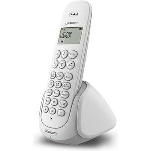 Logicom Aura 150 Solo Téléphone Sans Fil Sans Répondeur Blanc