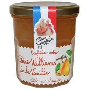 CONFITURE - MARMELADE Confiture Extra de Poire Williams à la vanille 350