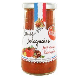 SAUCE CHAUDE Sauce Tomate Bolognaise 100% viandes Françaises 25