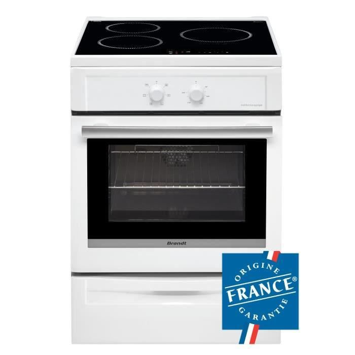 brandt bci6650w cuisini re table induction 3 foyers. Black Bedroom Furniture Sets. Home Design Ideas