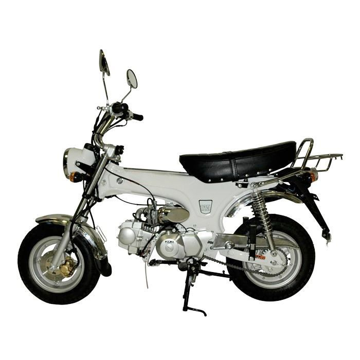 mini moto 50 cc blanc dax replica achat vente moto 1 cdiscount. Black Bedroom Furniture Sets. Home Design Ideas