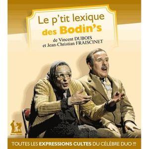 LIVRE HUMOUR Le p'tit lexique des Bodin's