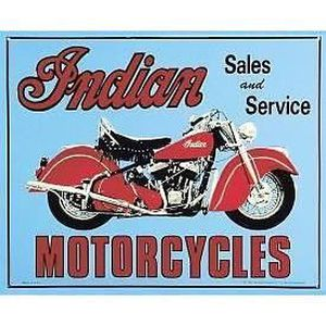 Deco plaques fer ou plaque emaillee  Plaque-tole-publicitaire-indian-moto-biker-bar