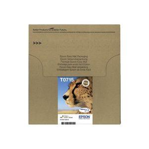 epson t0715 gu pard cartouches d 39 encre multipack c achat vente cartouche imprimante epson. Black Bedroom Furniture Sets. Home Design Ideas