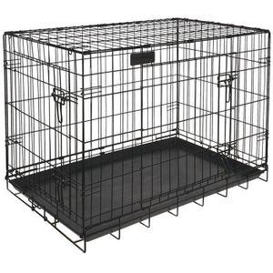 cage chien achat vente cage chien pas cher les soldes sur cdiscount cdiscount. Black Bedroom Furniture Sets. Home Design Ideas