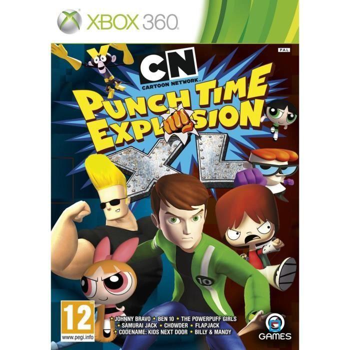 JEUX XBOX 360 PUNCH TIME EXPLOSION XL / Jeu console XBOX 360