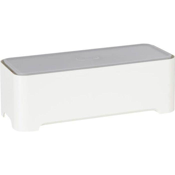 allibert boite de rangement rectangulaire 37x15x13 cm achat vente bac de rangement outils. Black Bedroom Furniture Sets. Home Design Ideas