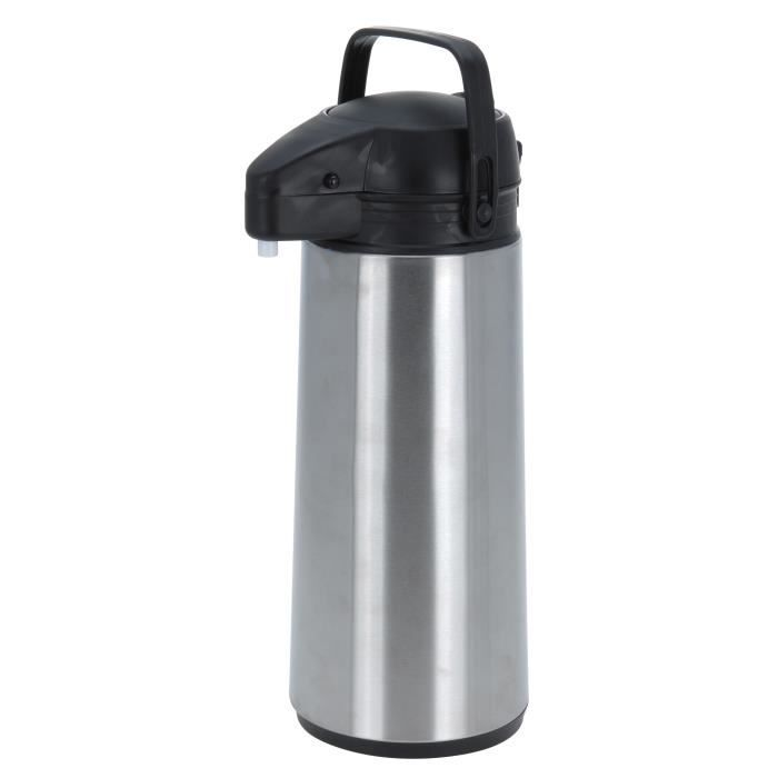 airpot pichet a pompe isotherme inox 1 9 l thermos achat vente bouteille isotherme cdiscount. Black Bedroom Furniture Sets. Home Design Ideas