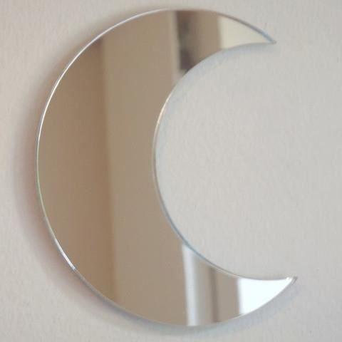 miroir de la lune 12 cm x 10 cm achat vente miroir