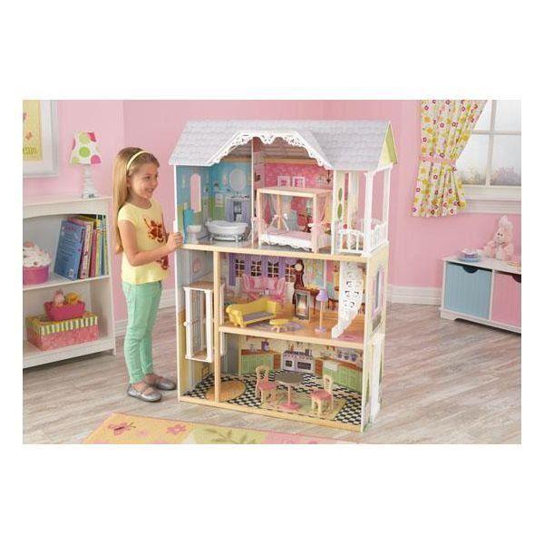 maison de poup es kaylee kidkraft 65869 achat vente dinette cuisine cdiscount. Black Bedroom Furniture Sets. Home Design Ideas