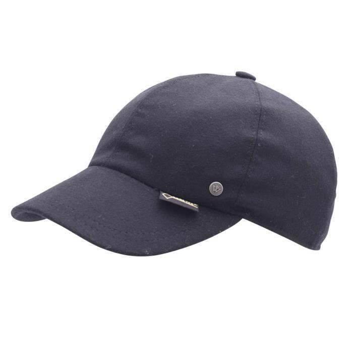 casquette baseball homme michel noir achat vente casquette cdiscount. Black Bedroom Furniture Sets. Home Design Ideas