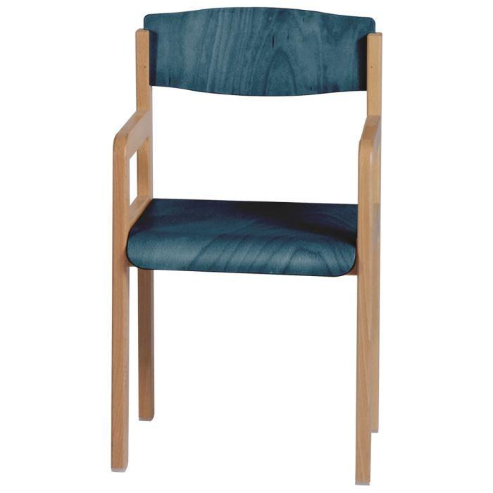 Fauteuil enfant bleu h tre winni achat vente chaise h tre bois co - Fauteuil enfant bleu ...