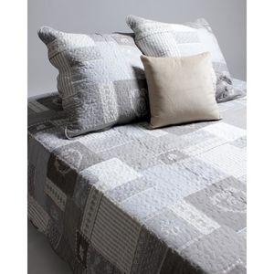dessus de lit 220x240 achat vente dessus de lit 220x240 pas cher cdiscount. Black Bedroom Furniture Sets. Home Design Ideas