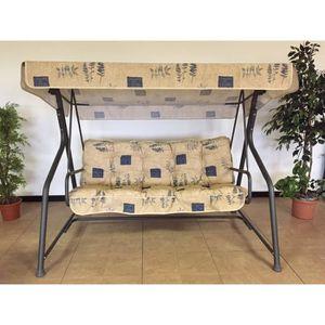 coussin pour balancelle de jardin achat vente coussin pour balancelle de jardin pas cher. Black Bedroom Furniture Sets. Home Design Ideas