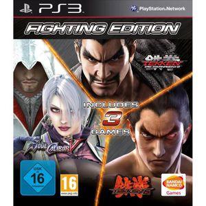JEU PS3 Tekken 6 + Tekken : Tag Tournament 2 + Soul Calibu