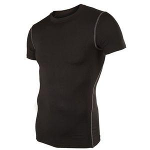 T-SHIRT DE COMPRESSION gilet Hommes vêtement sans manches Base de Comp...