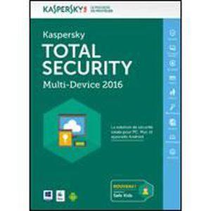 LOGICIEL À TÉLÉCHARGER Kaspersky Total Security - Multi-Device - 5 Pos...