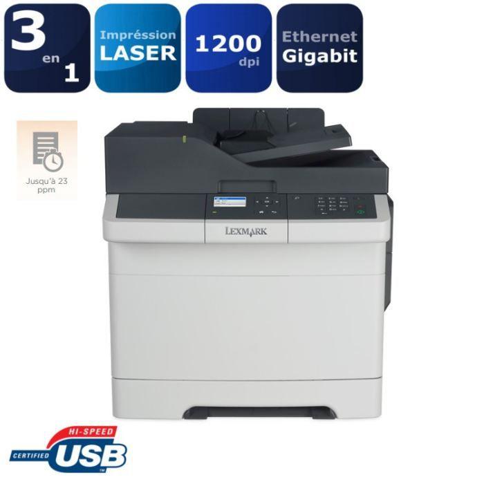 lexmark cx310n imprimante multifonction laser 3 en prix pas cher cdiscount. Black Bedroom Furniture Sets. Home Design Ideas
