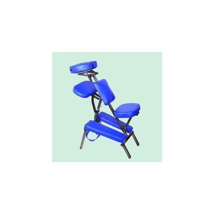 chaise de massage pliante bleu achat vente chaise cdiscount. Black Bedroom Furniture Sets. Home Design Ideas