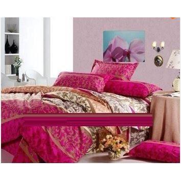 Parure de lit 2 pers coton arabesques achat vente parure de drap cdiscount - Cdiscount parure de lit ...