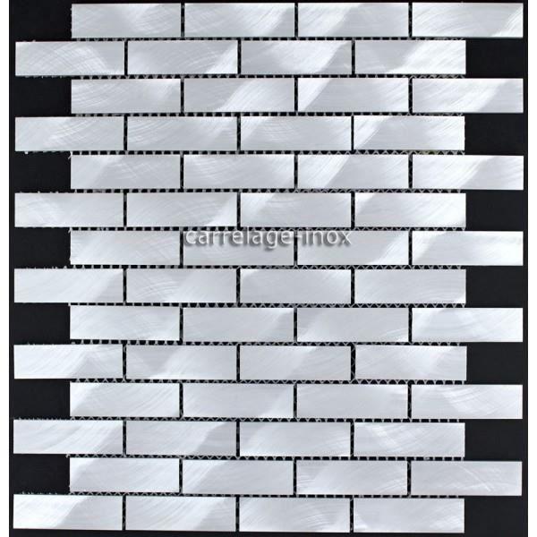 Carrelage mosaique murale aluminium ma bri 64 achat vente carrelage par - Carrelage mosaique discount ...