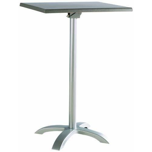 Best 43577787 table haute carr e maestro argent achat for Table haute carree ikea