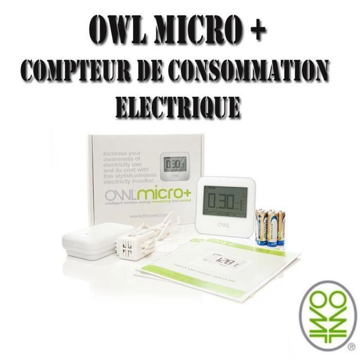 Owl micro cm180 compteur consommation lectrique achat vente multim tre - Moyenne consommation electrique ...