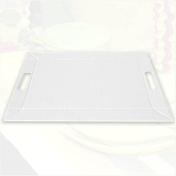 2 en 1 le plateau set de table blanc achat vente set de table soldes d t cdiscount. Black Bedroom Furniture Sets. Home Design Ideas