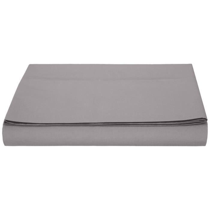 linge de lit parure de drap amazonbasics drap en m achat vente parure de drap cdiscount. Black Bedroom Furniture Sets. Home Design Ideas